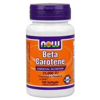 now beta caroteno