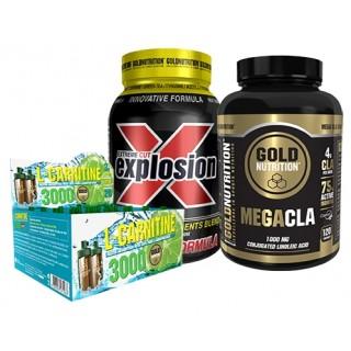 Pack adelgazamiento hombre goldnutrition